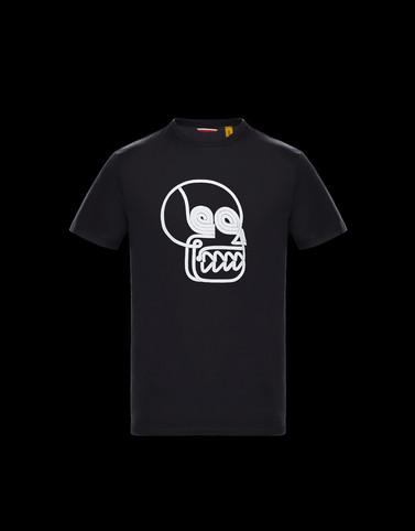 T-SHIRT Black 2 Moncler 1952 Valextra Man