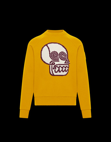 SWEATSHIRT Yellow 2 Moncler 1952 Valextra Man