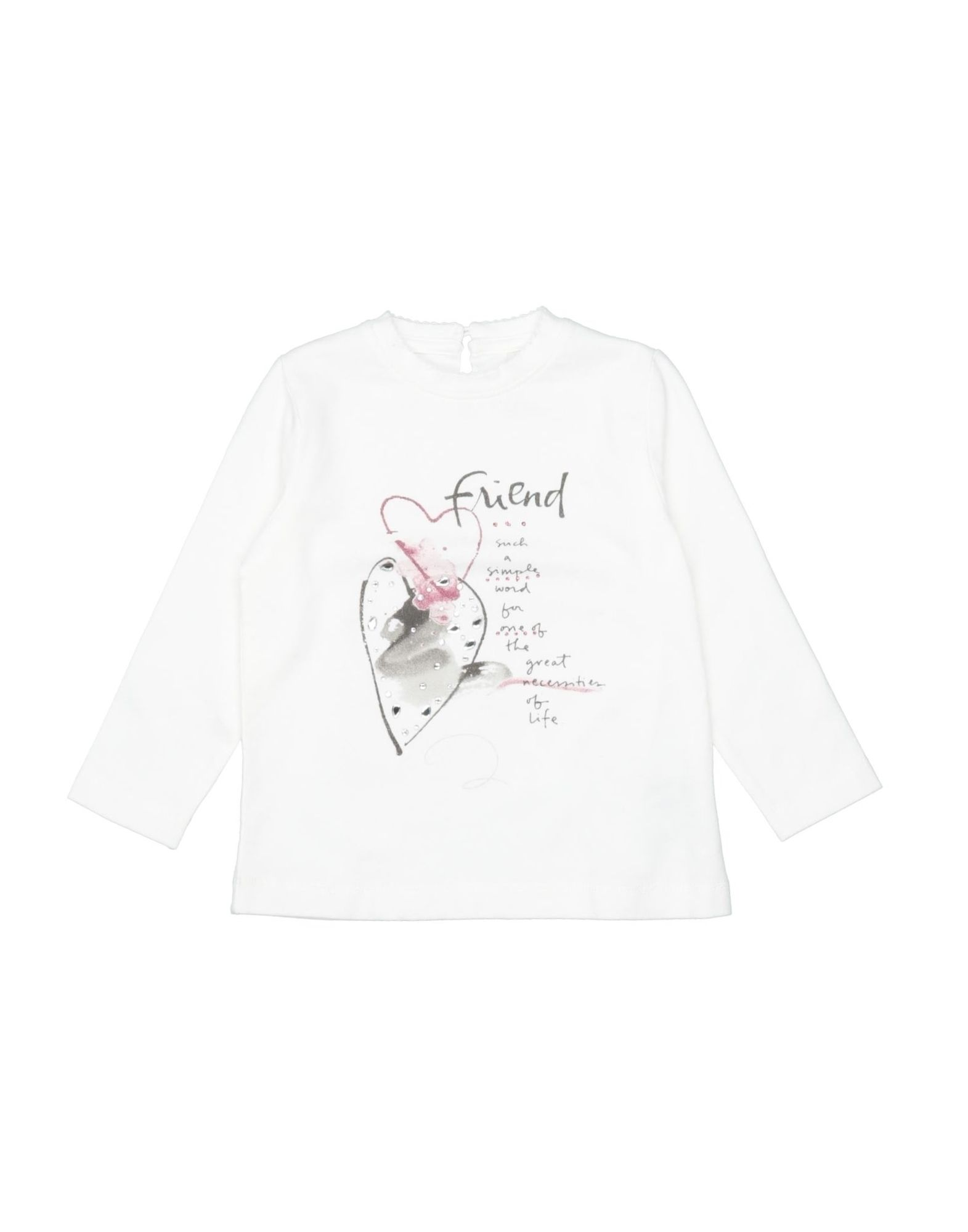 To Be Too Kids' T-shirts In Neutrals