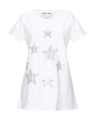 Купить Женскую футболку BRAND UNIQUE цвет слоновая кость
