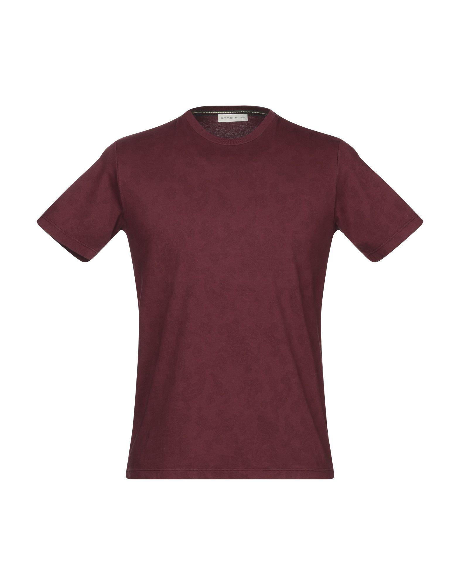 ETRO Футболка etro красная льняная футболка