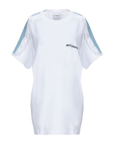 Купить Женскую футболку BROGNANO белого цвета