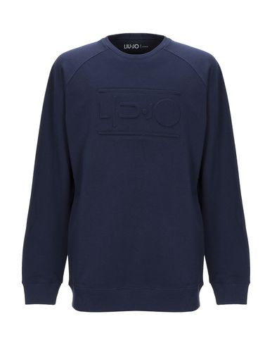Купить Мужскую толстовку LIU •JO MAN темно-синего цвета