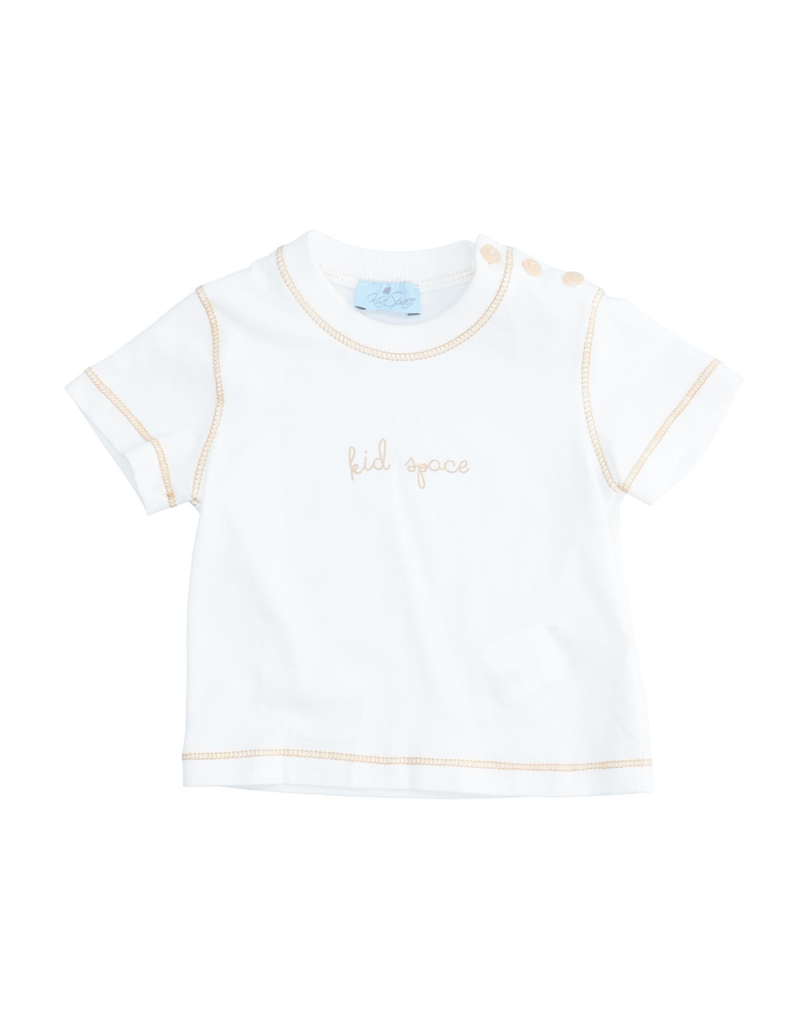 Kid Space Kids' T-shirts In White