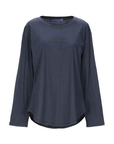 Купить Женскую футболку BLUE LES COPAINS темно-синего цвета