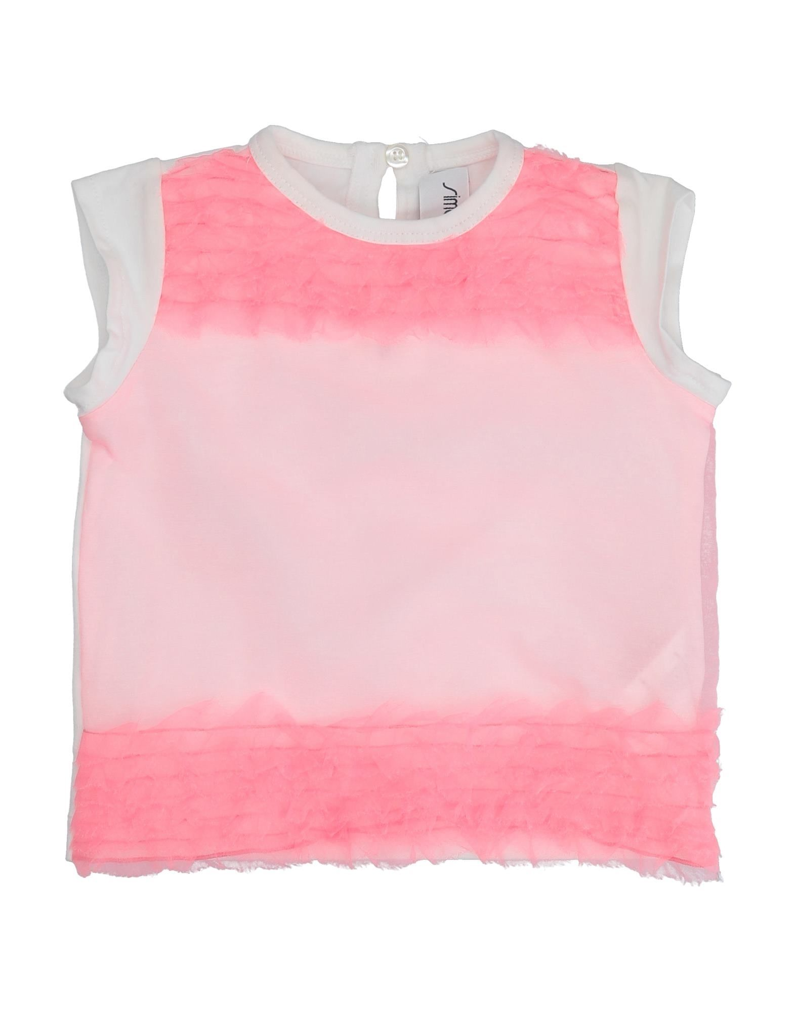 Simonetta Mini Kids' T-shirts In Pink
