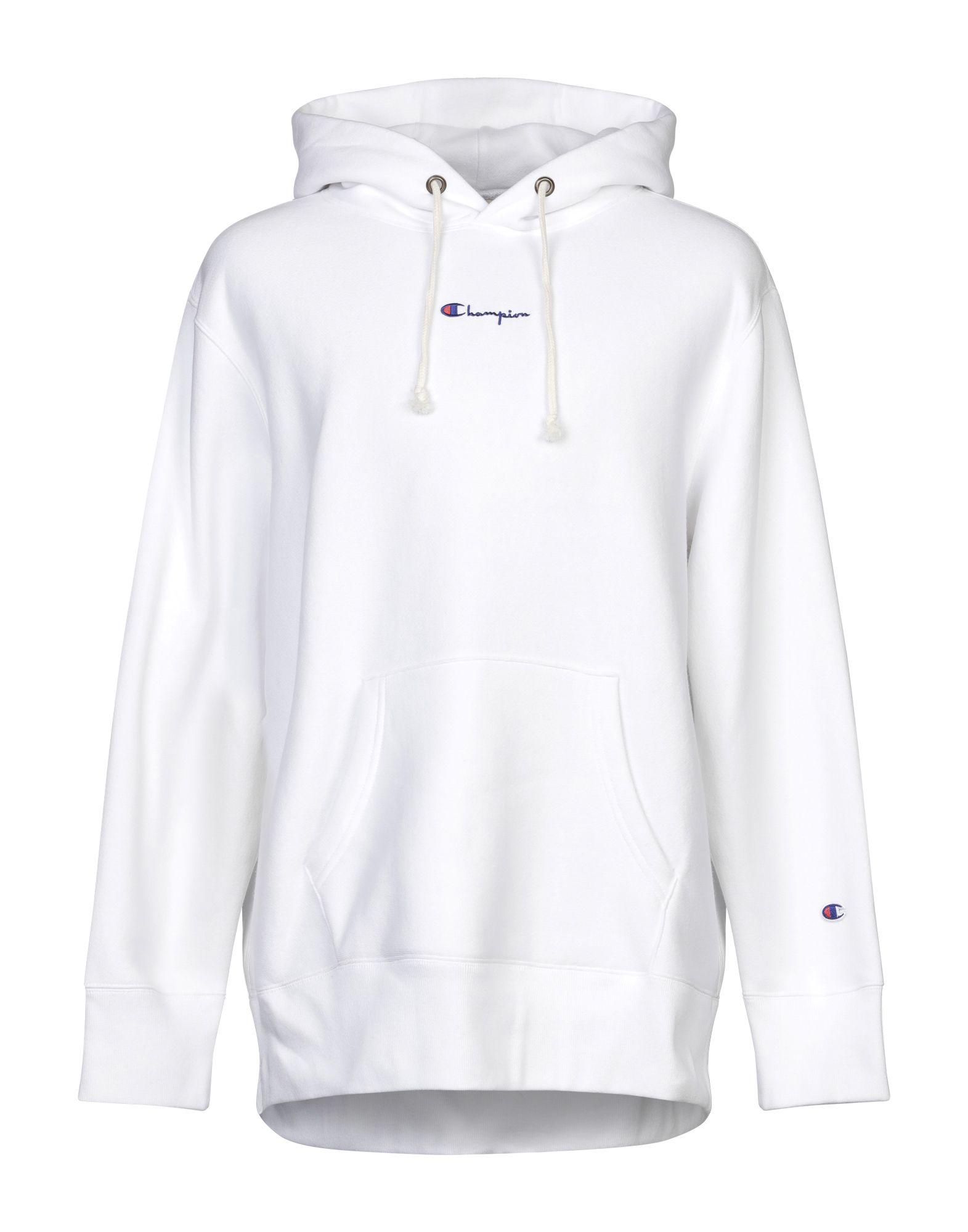 《セール開催中》CHAMPION メンズ スウェットシャツ ホワイト M コットン 84% / ポリエステル 16%