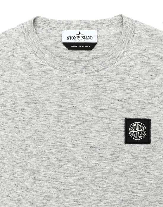 12372788br - Polo - T-Shirts STONE ISLAND JUNIOR