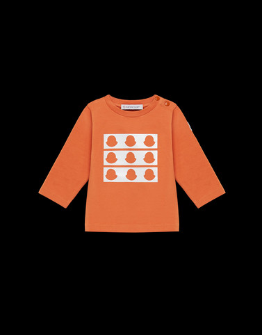 T-SHIRT Orange Baby 0-36 months - Boy