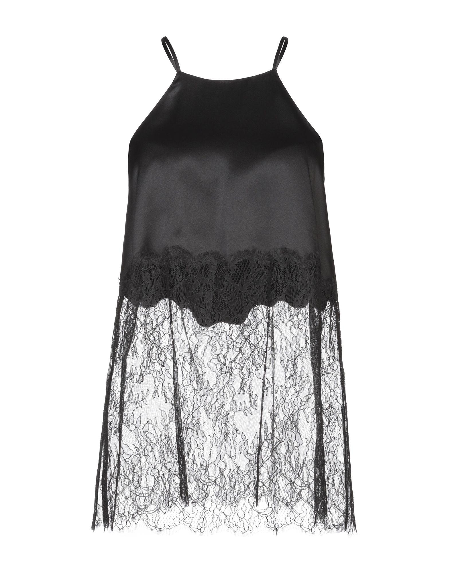 CAMI NYC Топ без рукавов brief low cut plaid print flounced women s cami dress