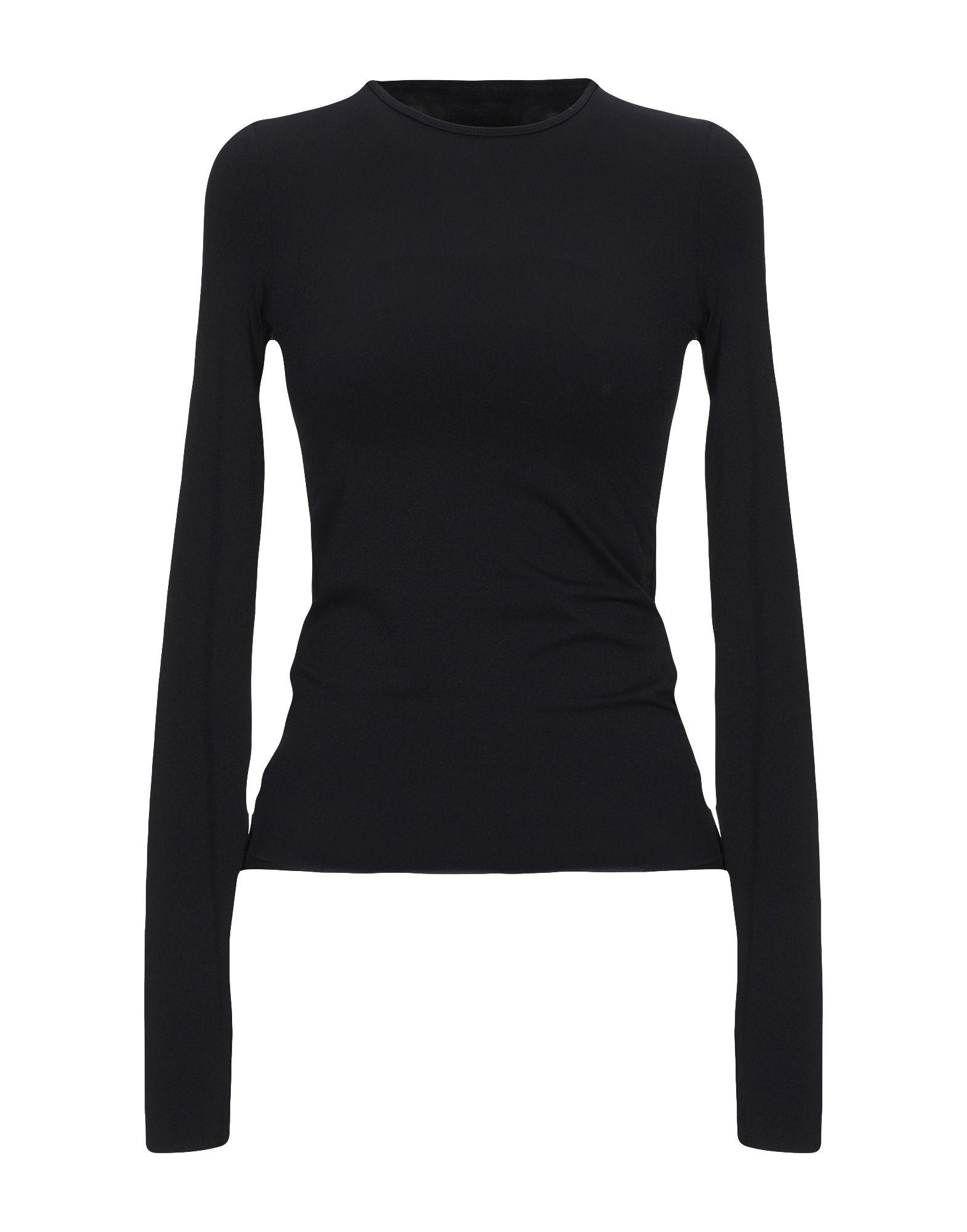 《セール開催中》LIVIANA CONTI レディース T シャツ ブラック XS ナイロン 85% / ポリウレタン 15%