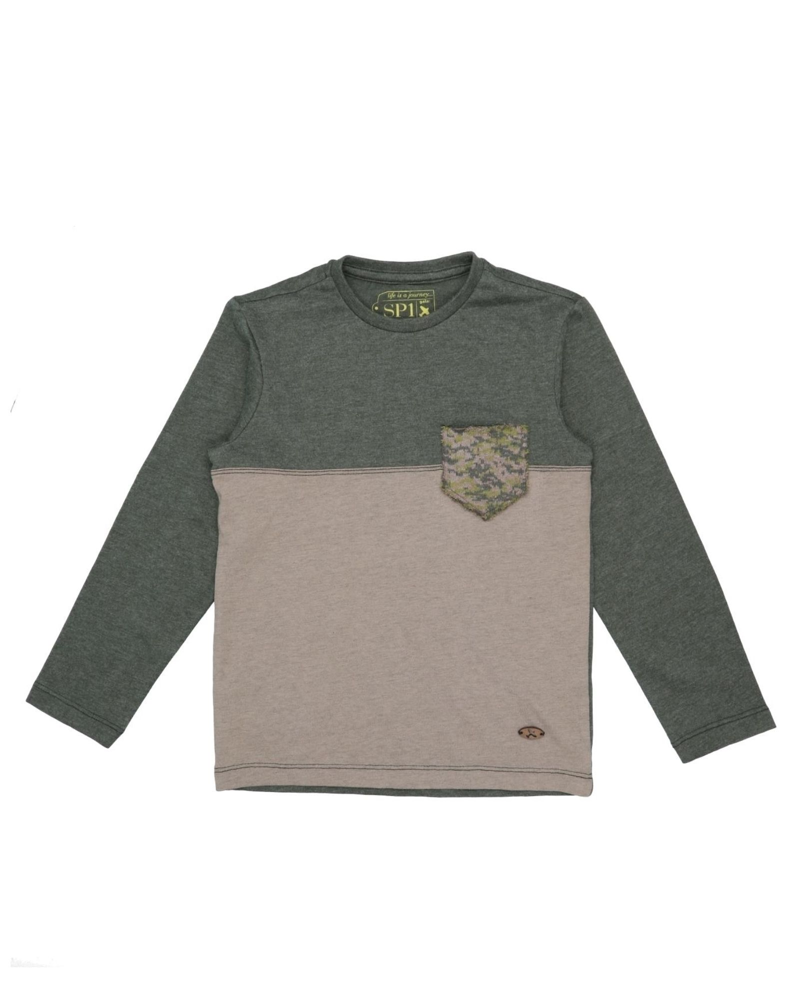 Sp1 Kids' T-shirts In Green