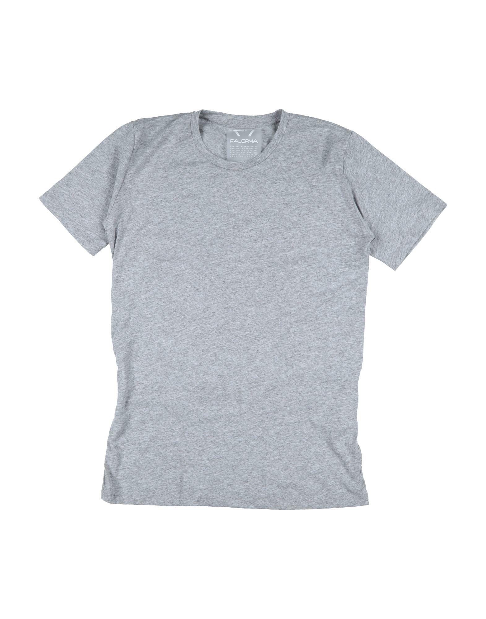 Falorma Kids' T-shirts In Gray