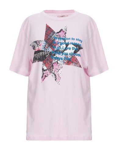 Купить Женскую футболку ISABEL MARANT ÉTOILE сиреневого цвета