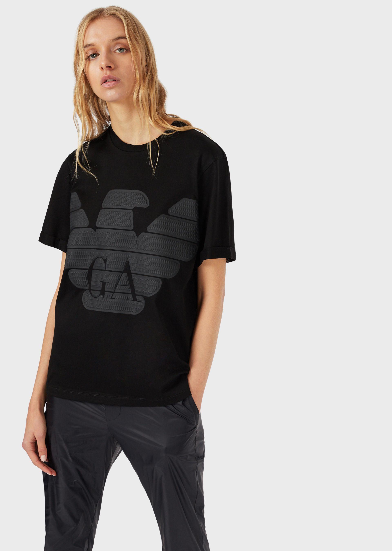 Emporio Armani T-Shirts - Item 12384150 In Black
