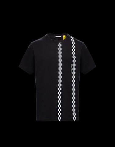 T恤 黑色 Genius 男士