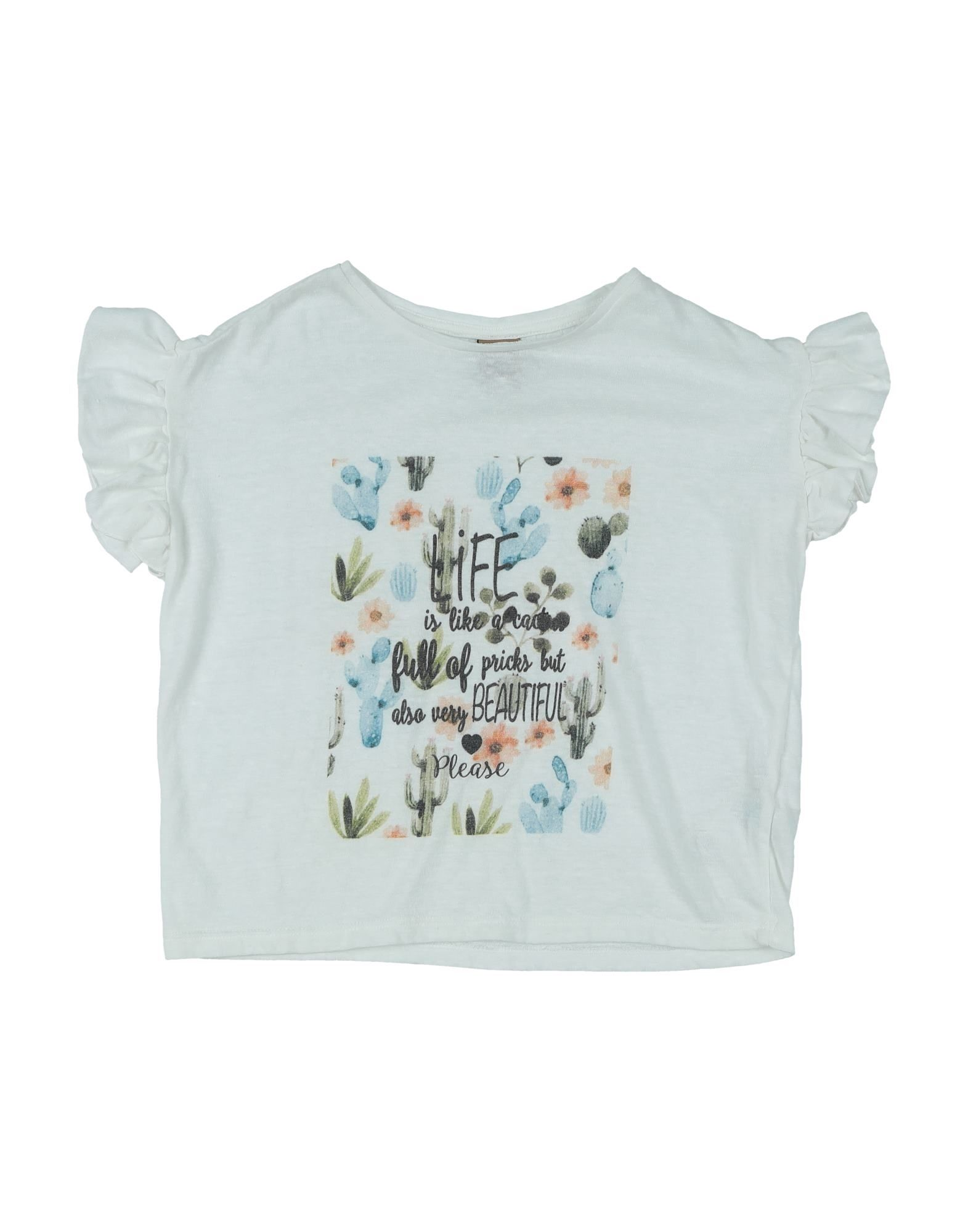 Please Kids' T-shirts In White