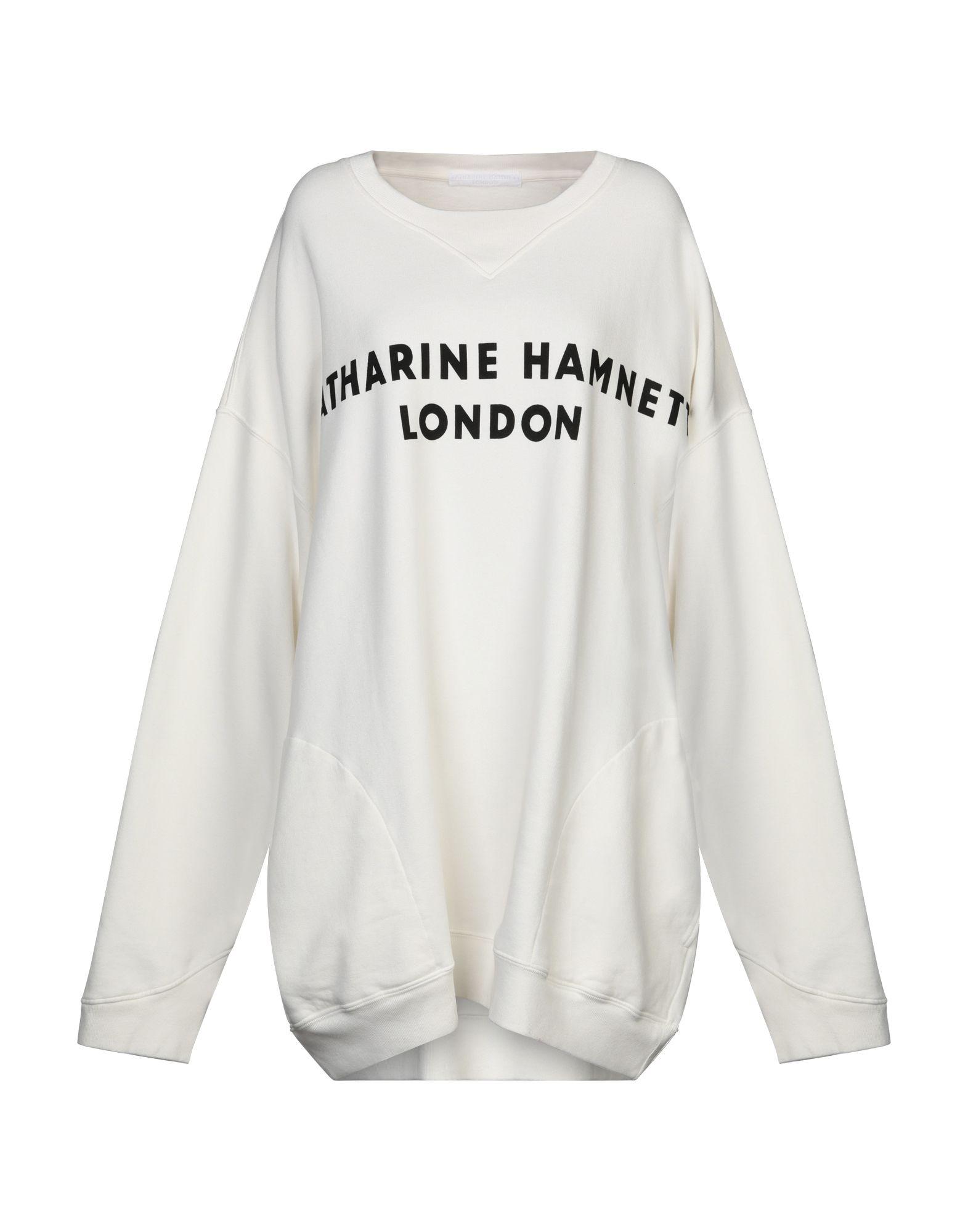 KATHARINE HAMNETT LONDON Толстовка katharine e hamnett шелковая рубашка