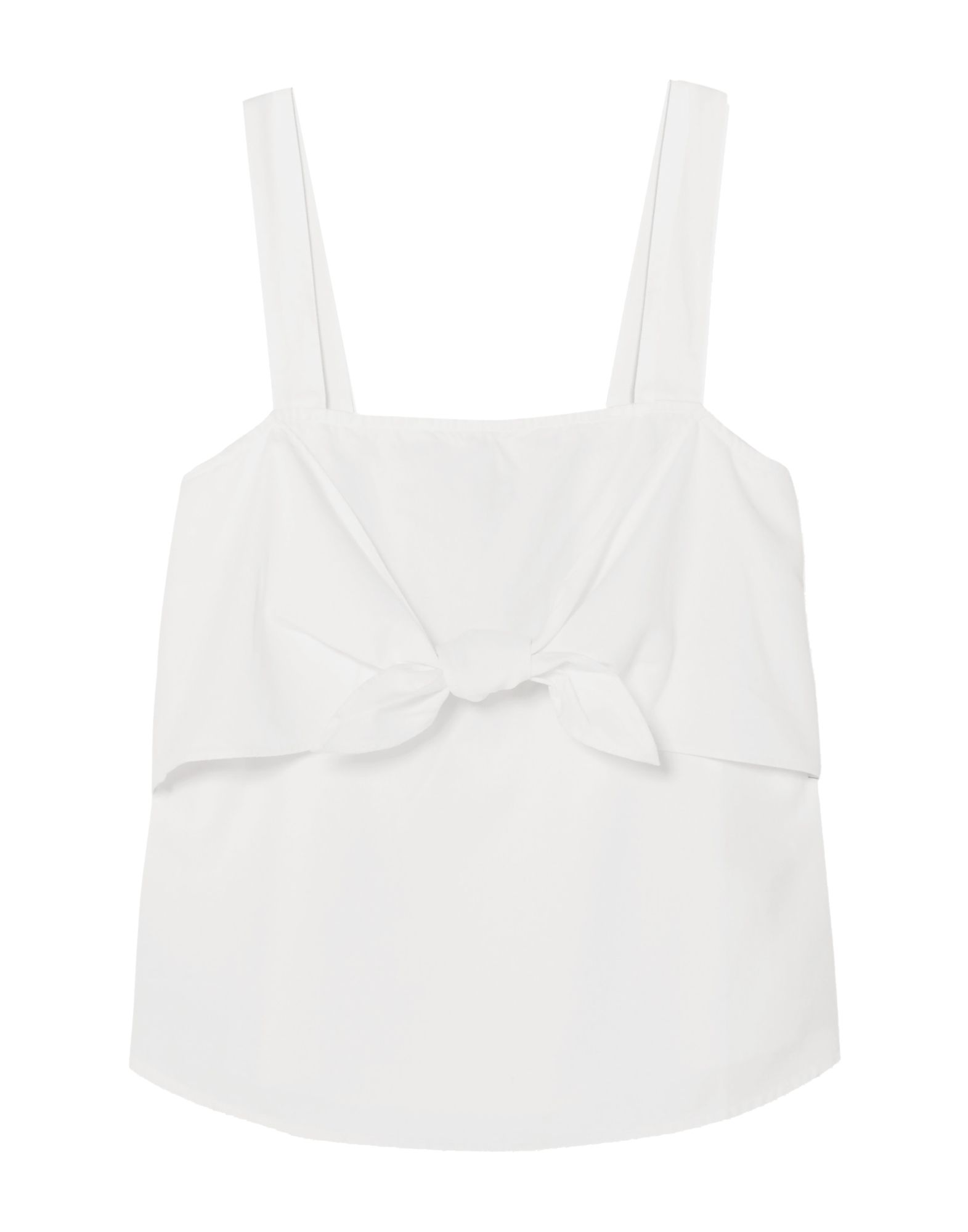 MADEWELL Tops. no appliqués, solid color, sleeveless, deep neckline. 60% Cotton, 40% Modal