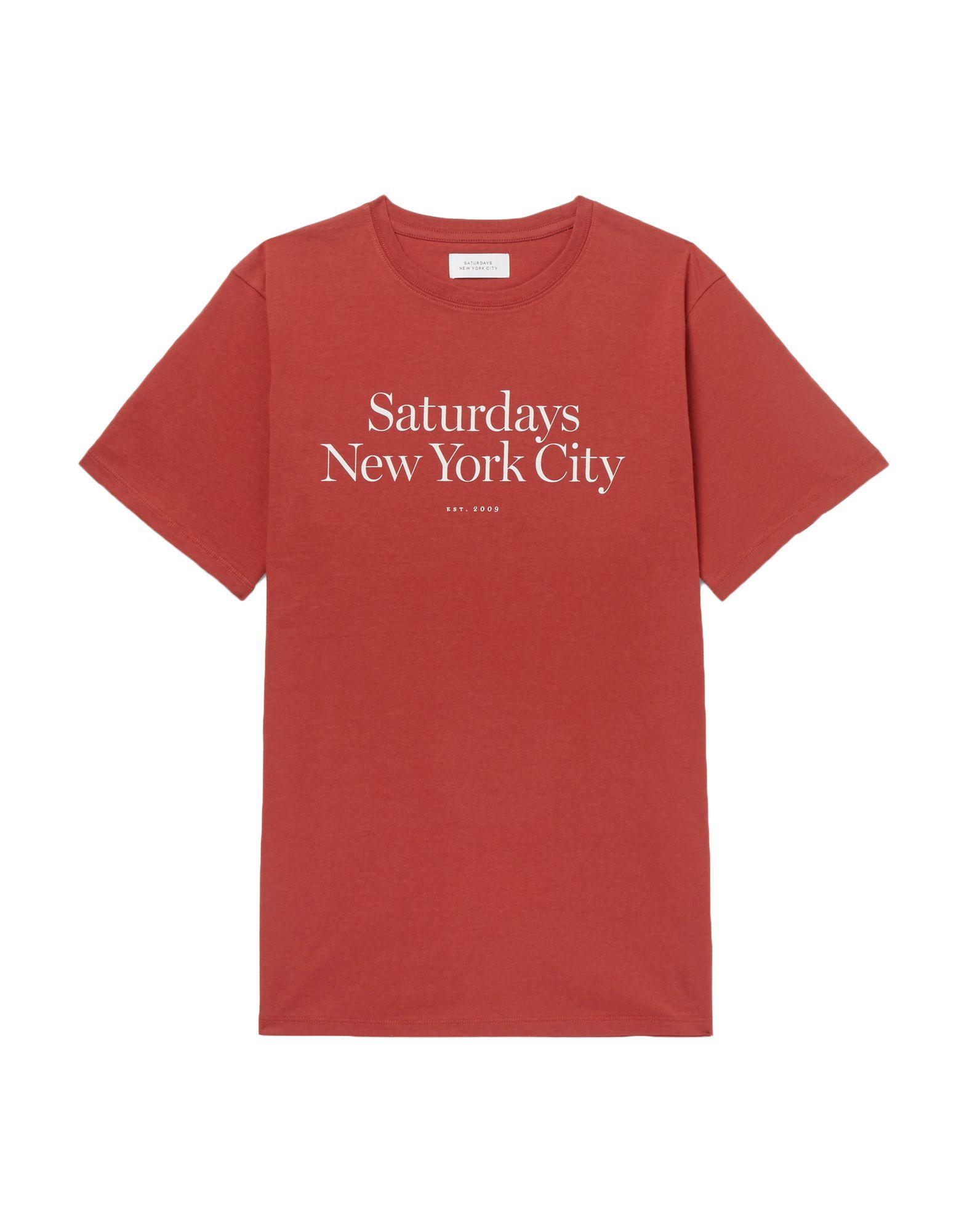 цена на SATURDAYS NEW YORK CITY Футболка