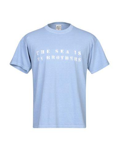 Фото - Женскую футболку WILD DONKEY небесно-голубого цвета