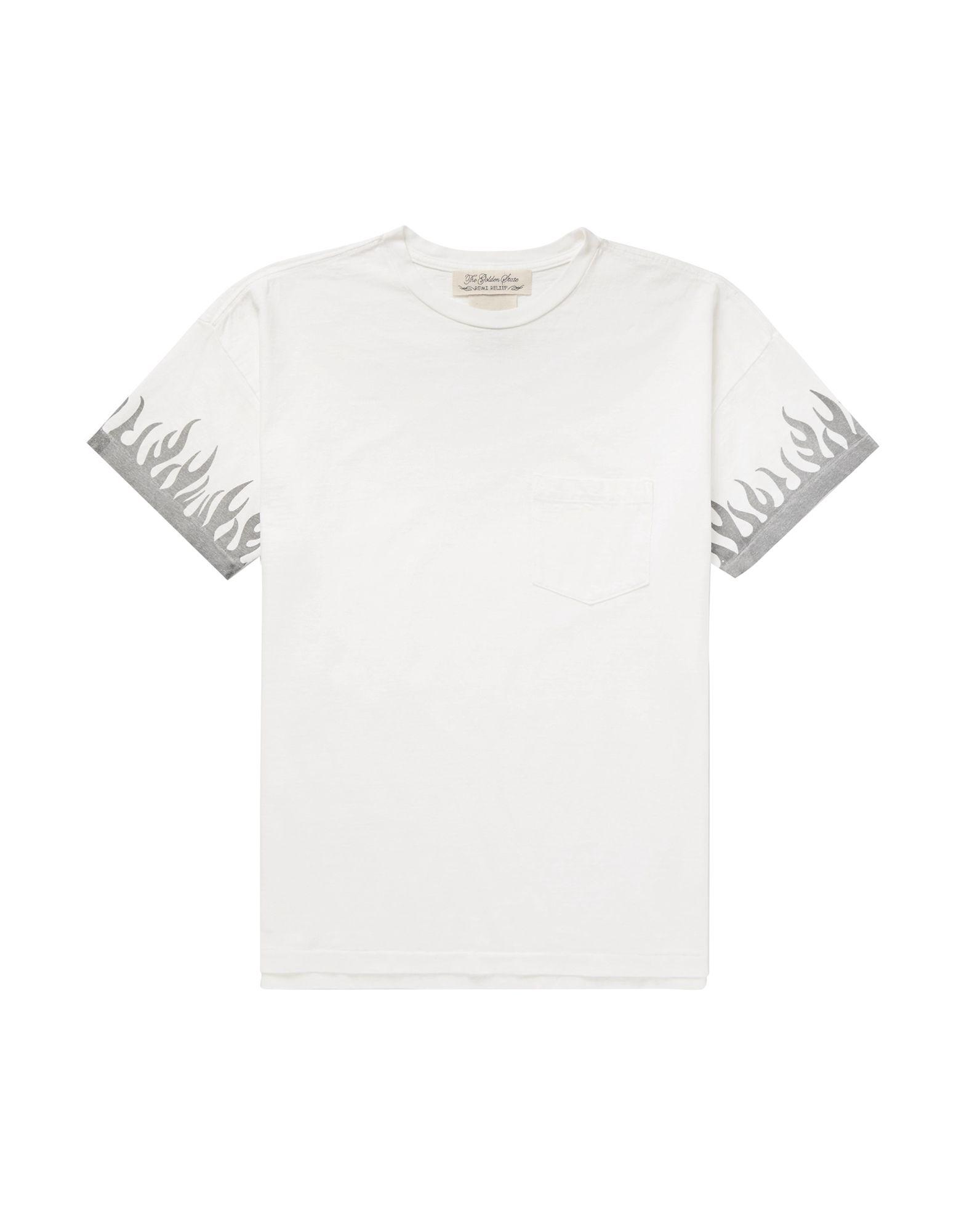 《セール開催中》REMI RELIEF メンズ T シャツ ホワイト M コットン 100%