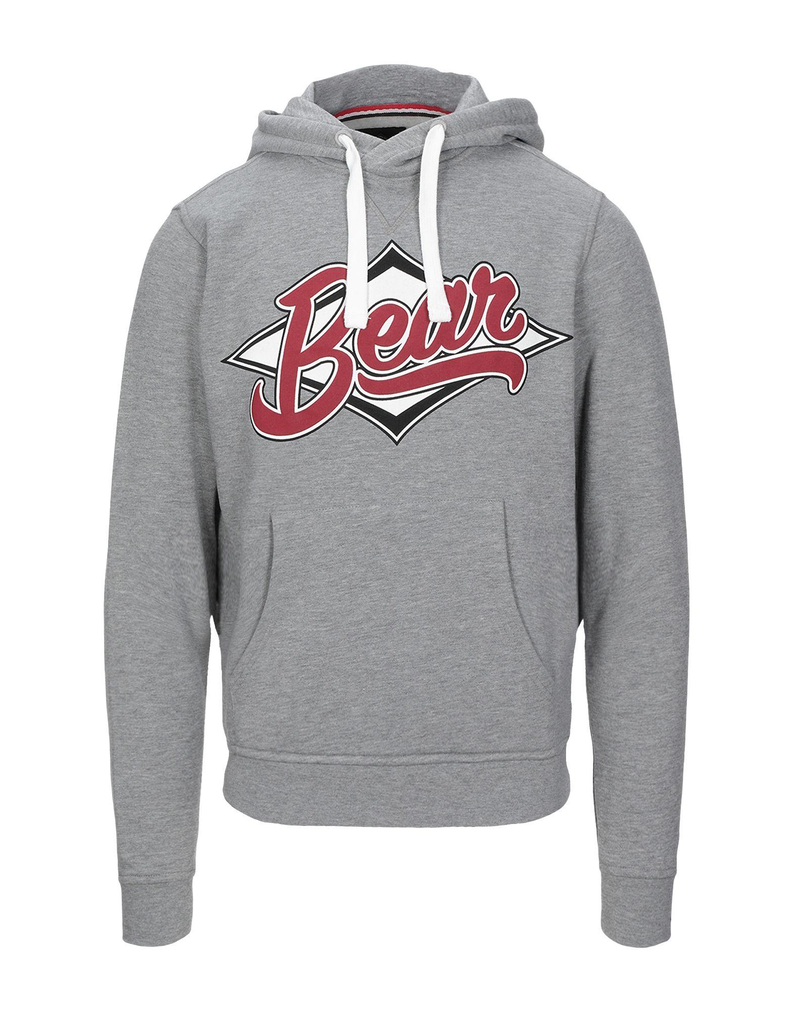 《セール開催中》BEAR メンズ スウェットシャツ グレー M ポリエステル 60% / コットン 40%