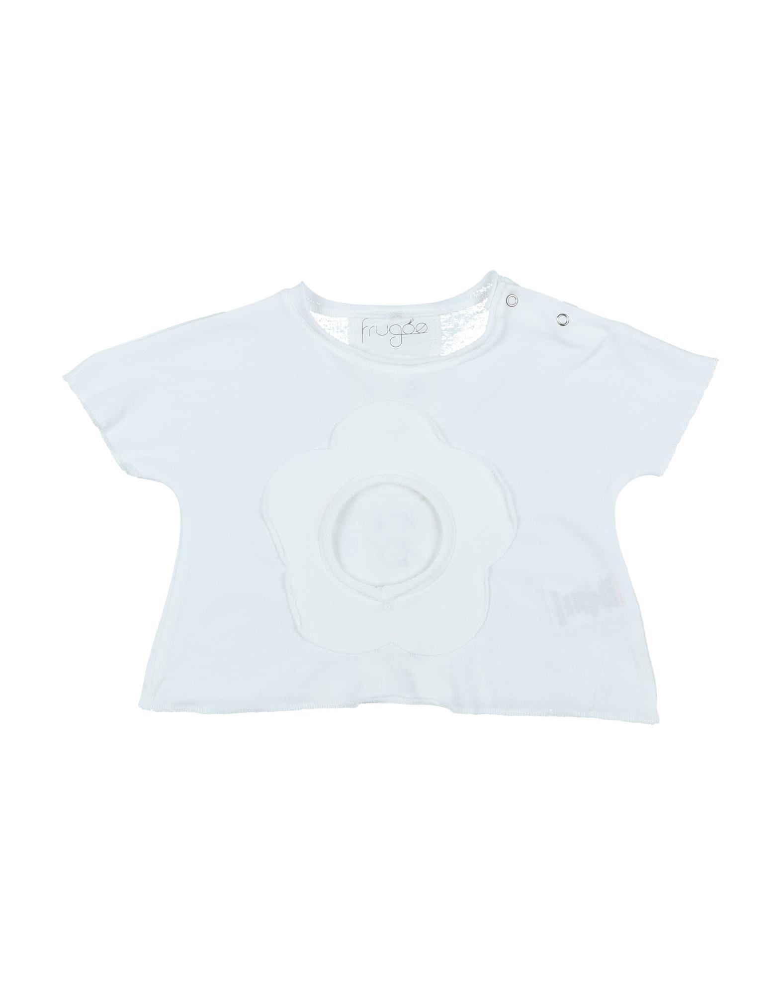 Frugoo Kids' T-shirts In White
