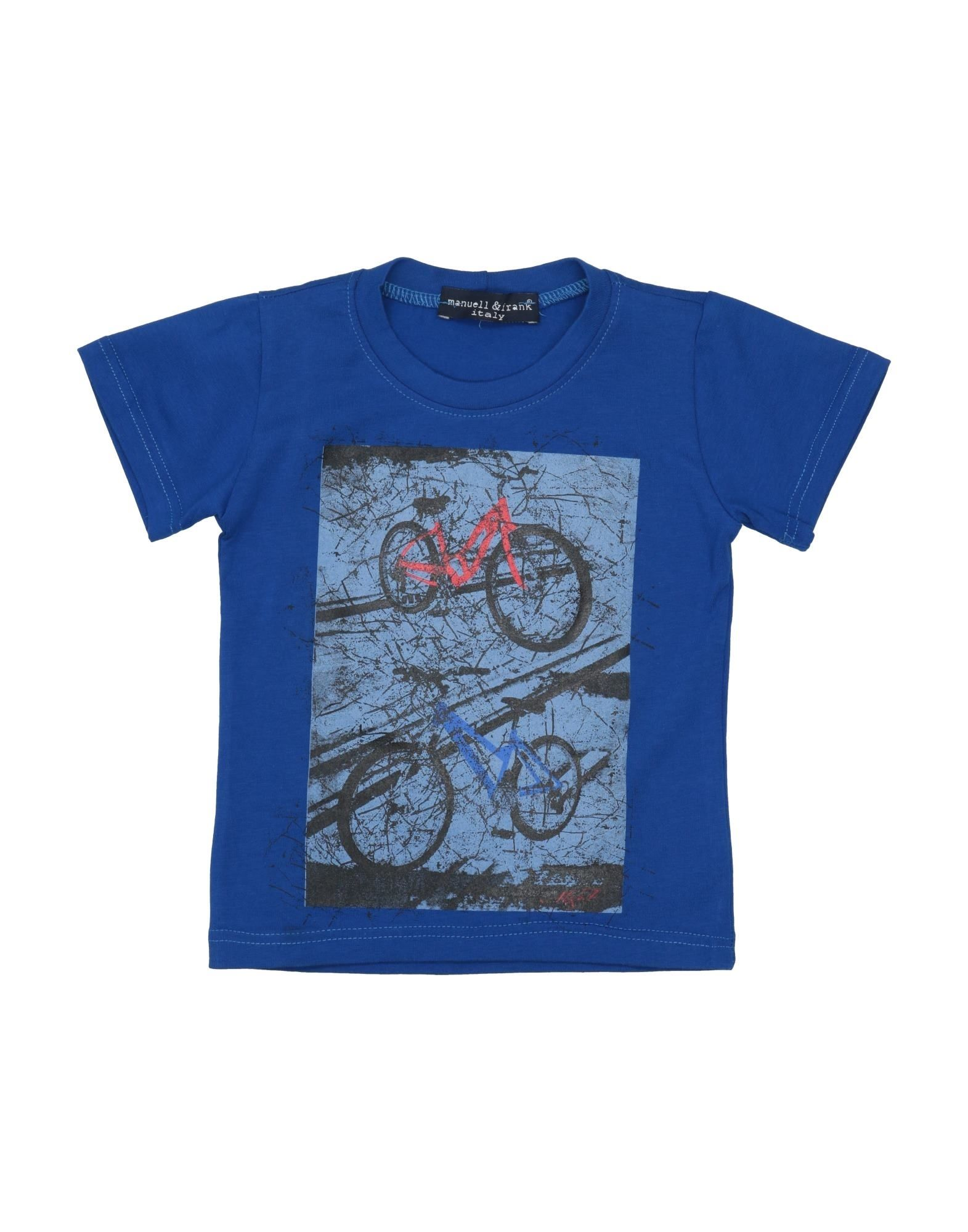 Manuell & Frank Kids' T-shirts In Blue