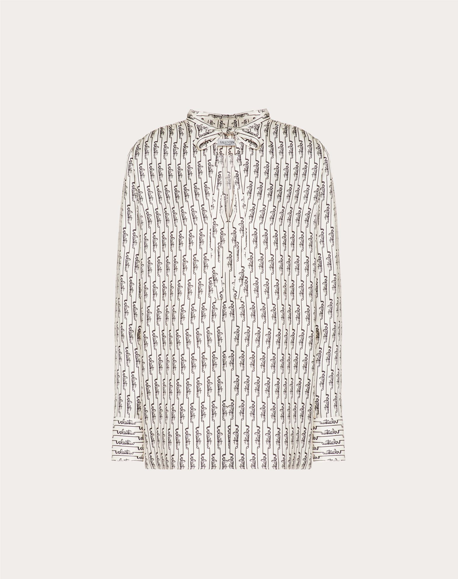 Printed Twill Top