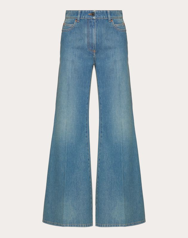 VLOGO Blue Denim Jeans