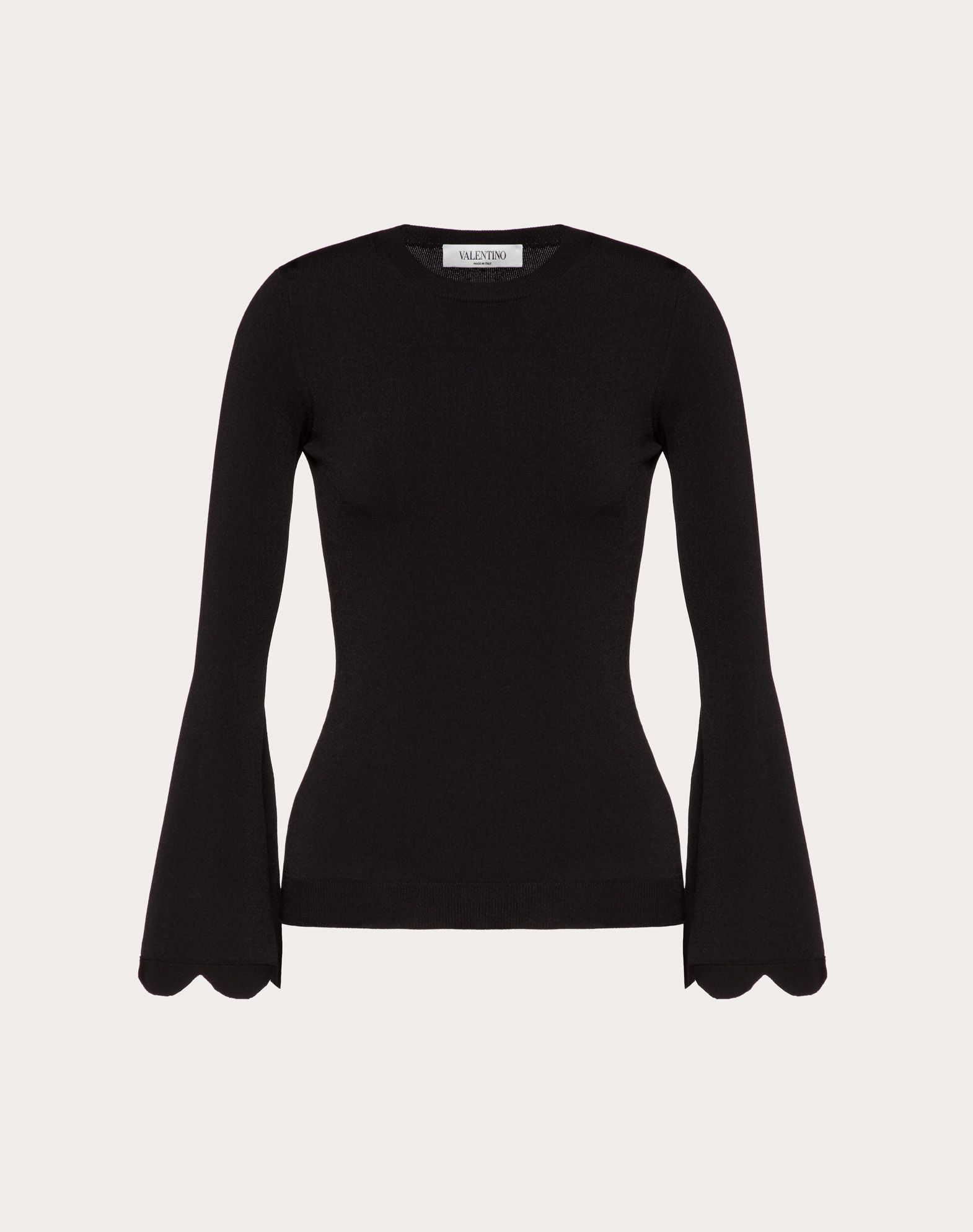Scallop Viscose Sweater