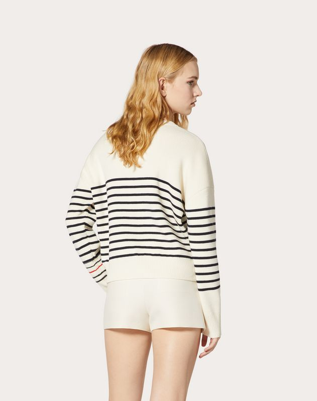 Embroidered Wool Jumper