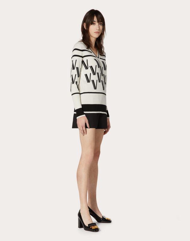 Cashmere Wool Jacquard Jumper