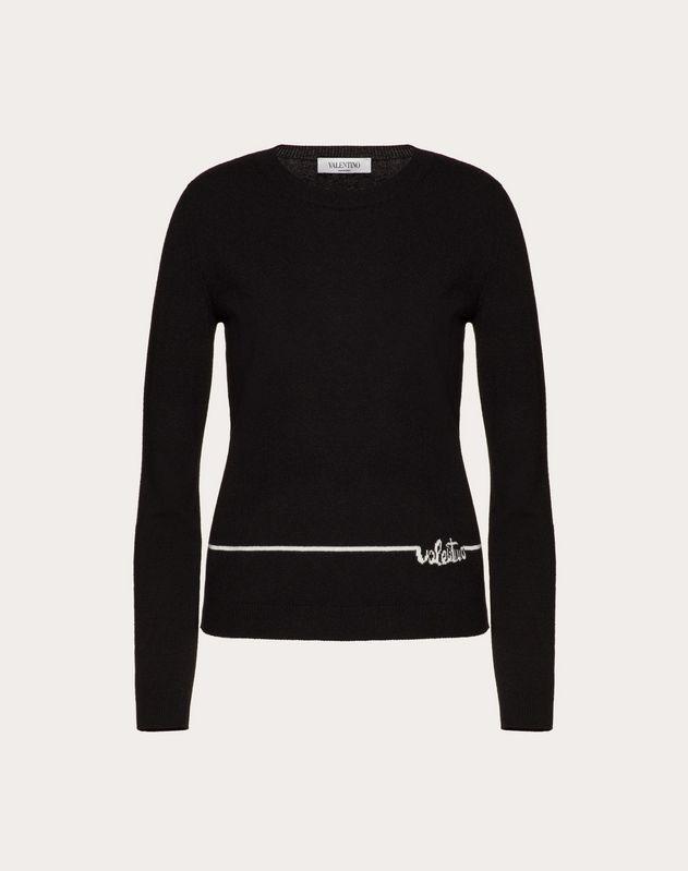 Valentino Signature Cashmere Wool Jumper