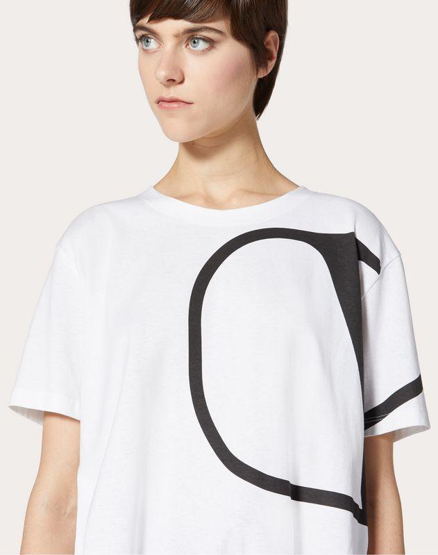VLOGO 프린트 티셔츠