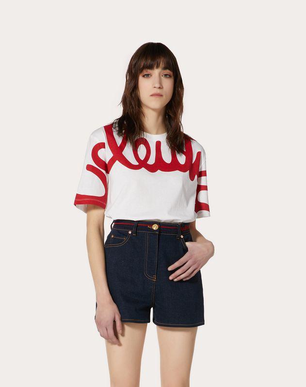 Valentino Signature Jersey T-Shirt