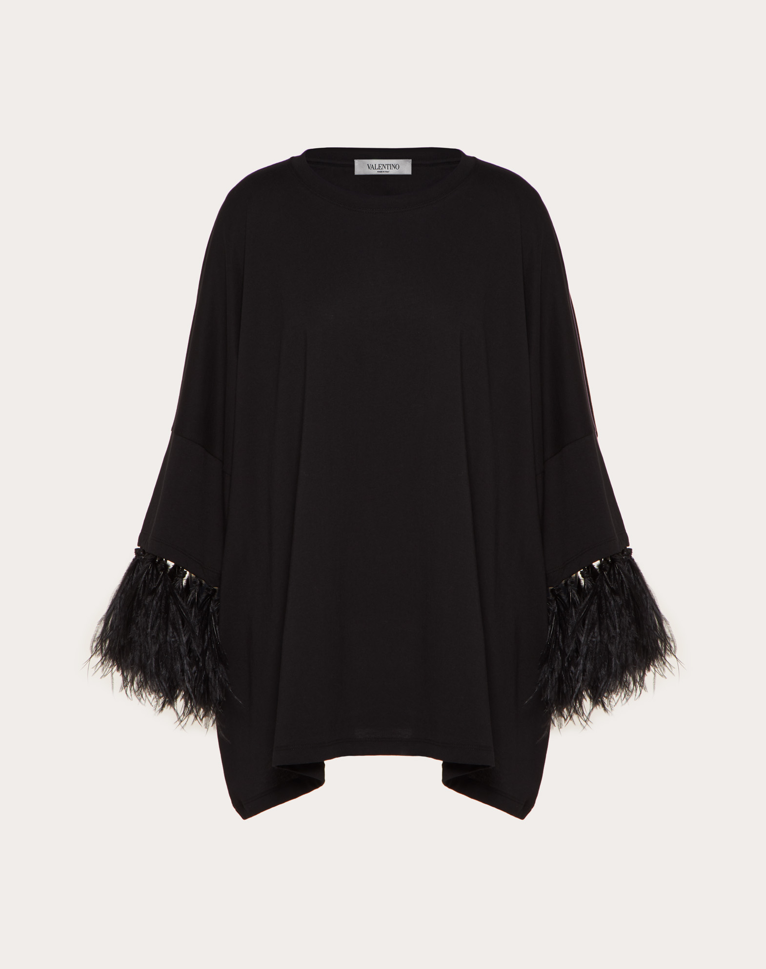 Feather Embroidery T-Shirt