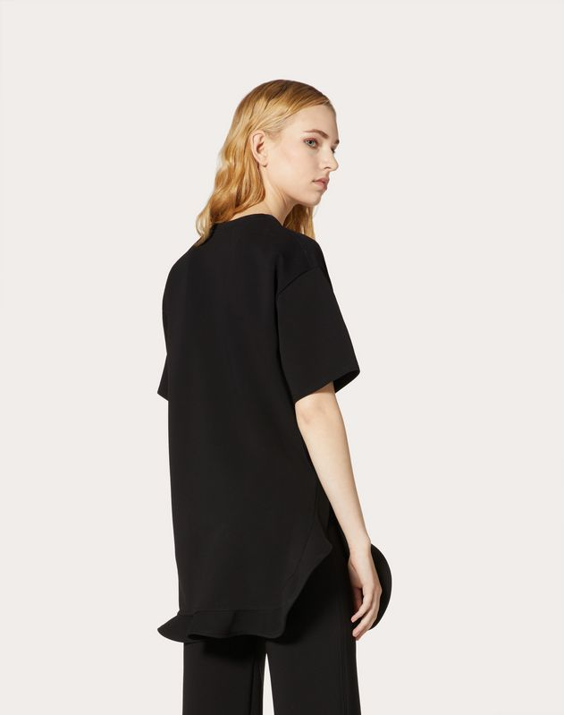 VGOLD Crepe-Jersey Tunic Dress