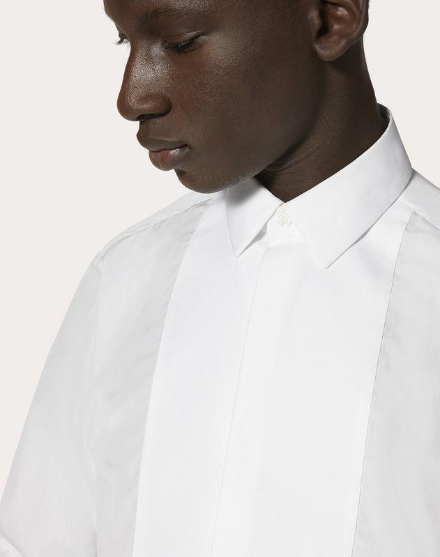 FORMAL SHIRT WITH PIQUE PLASTRON