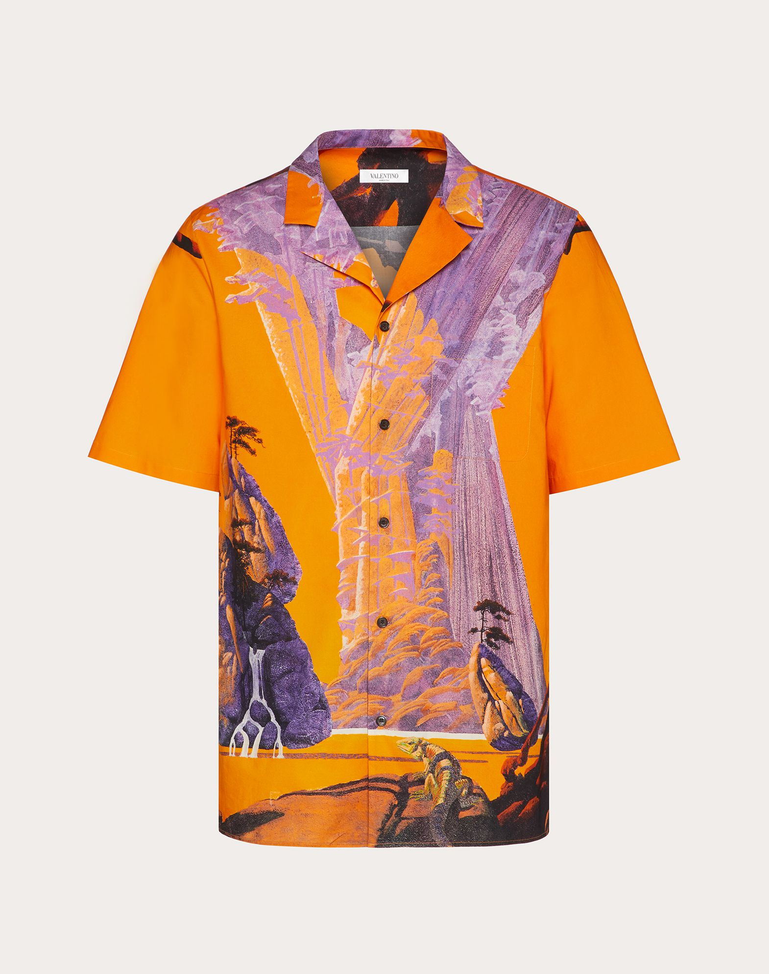 YELLOW CITY SHORT-SLEEVED SHIRT