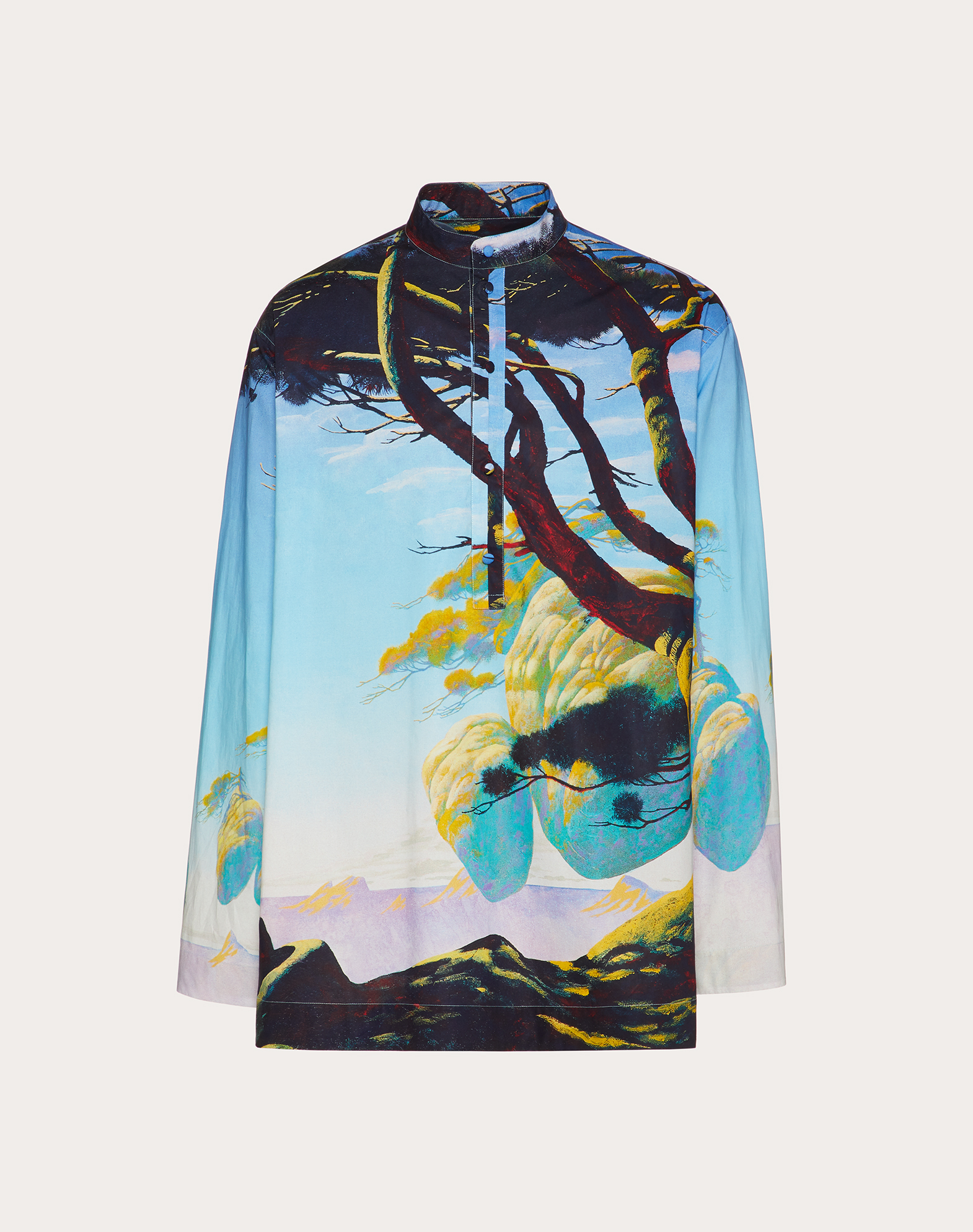FLOATING ISLAND LONG-SLEEVED SHIRT