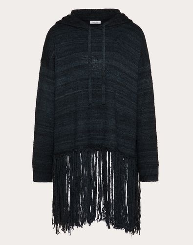 FRINGED SILK JUMPER