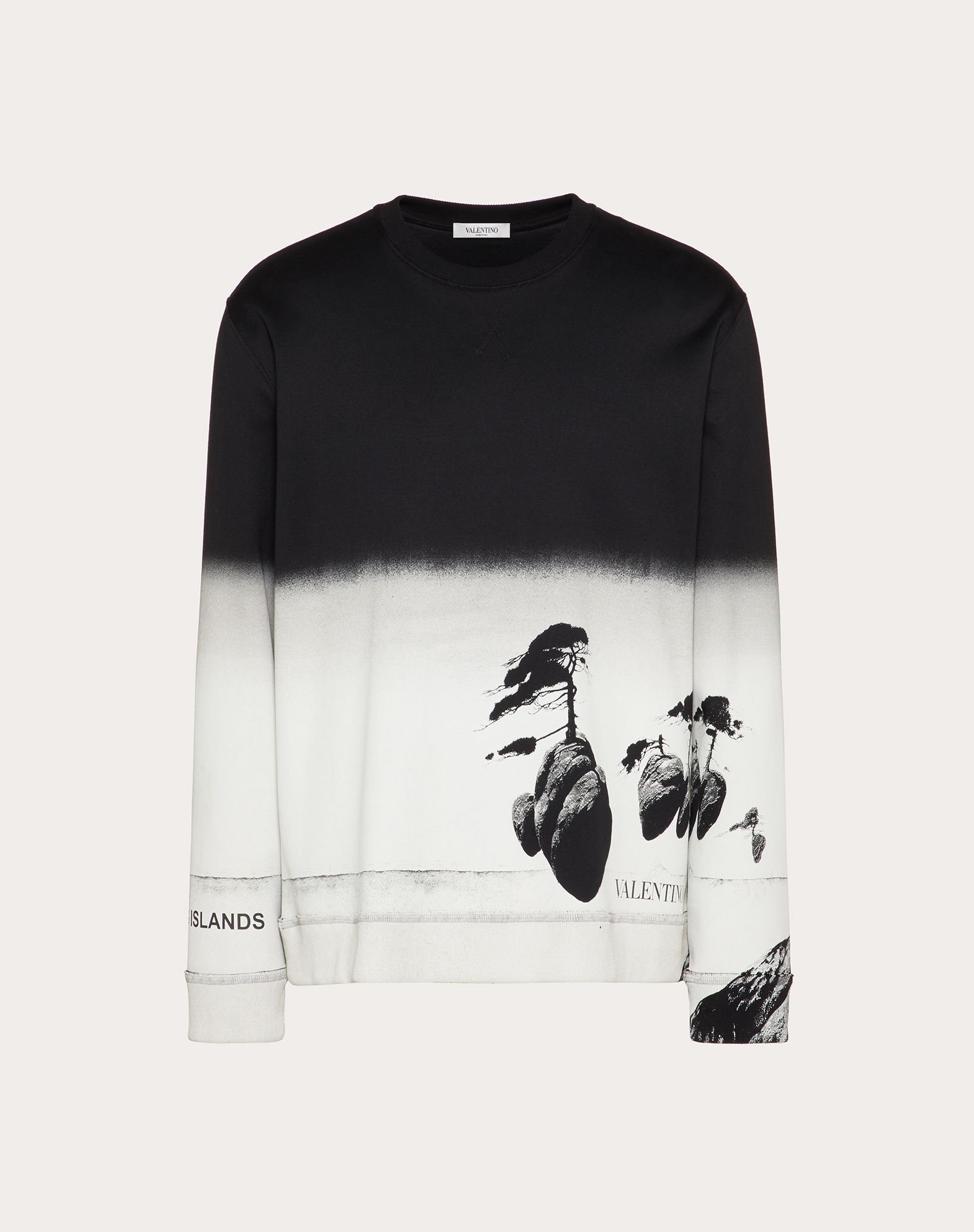 ALL-OVER FLOATING ISLAND SWEATSHIRT
