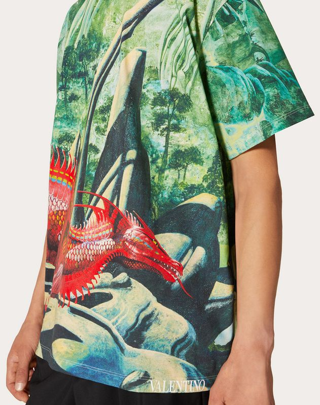 ALL-OVER RED DRAGON T-SHIRT