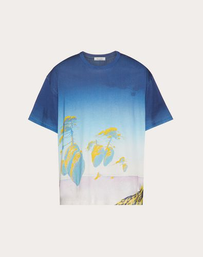 ALL-OVER FLOATING ISLAND T-SHIRT