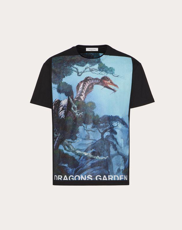 DRAGONS GARDEN PRINT T-SHIRT