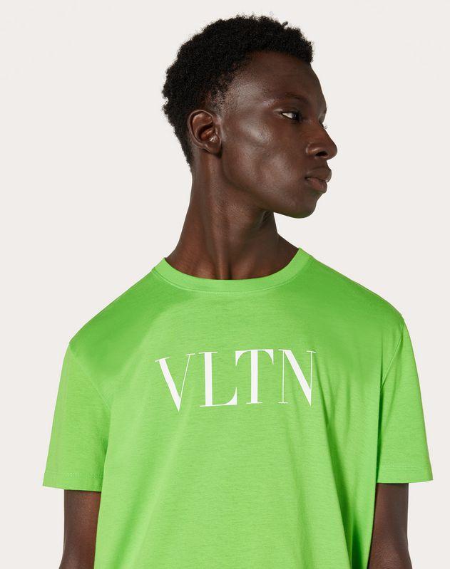 NEON GREEN VLTN T-SHIRT