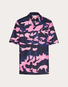 navy camo/pink