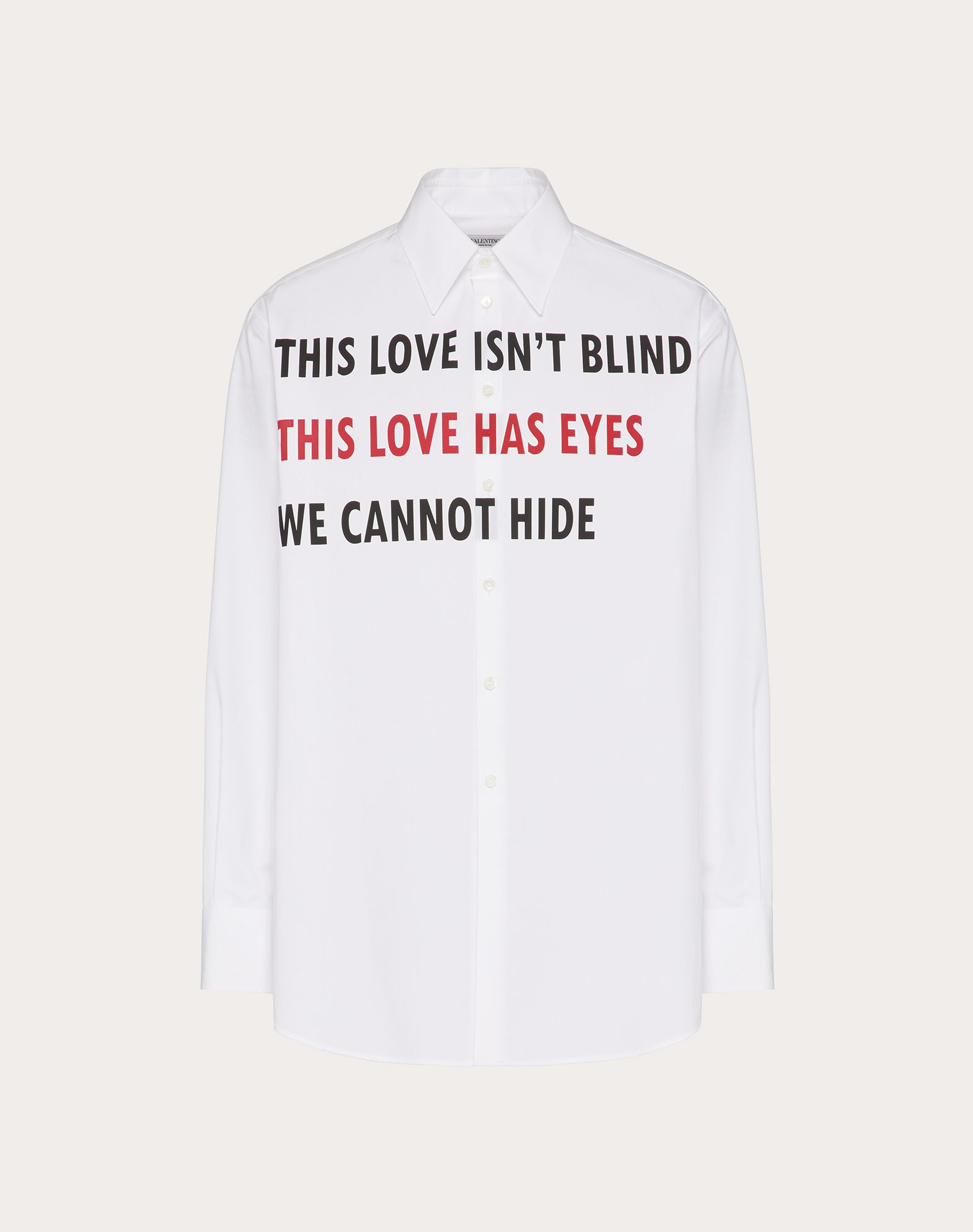 VALENTINO ON LOVE SHIRT